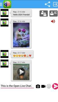 American Live Chat apk screenshot