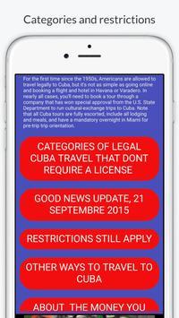✈✈✈ How to Travel to Cuba? ✈✈✈ screenshot 3