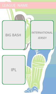 Cricket Jersey Maker apk screenshot