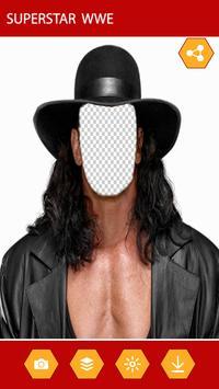 Photo Editor For WWE screenshot 1