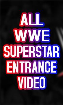 WWE Wrestler  Entrance Video 2018 poster