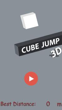 Cube Jump 3D poster
