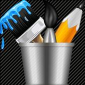 Finger paint ( Kids Art Game) icon