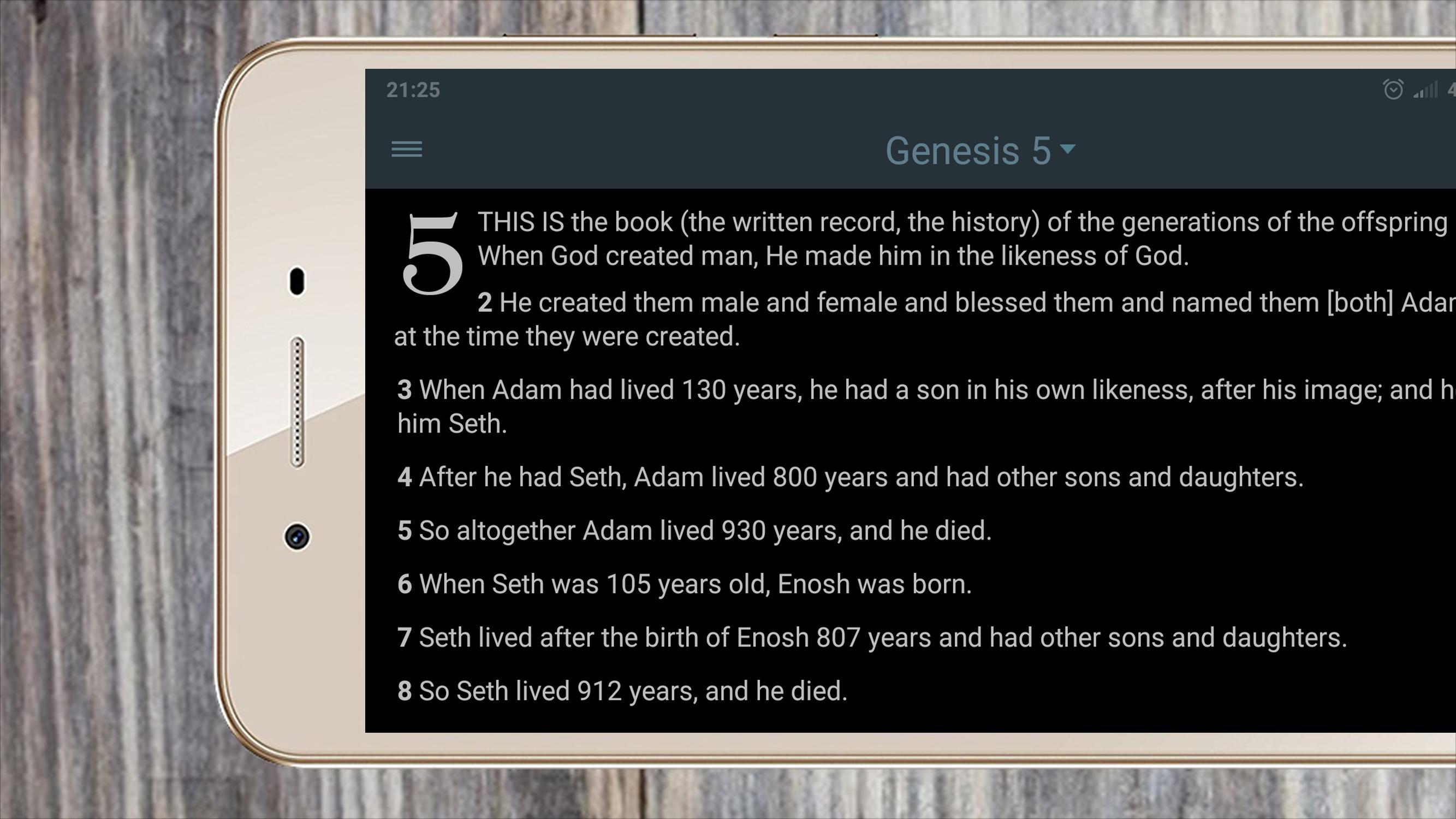 BIBLE TÉLÉCHARGER AMPLIFIED