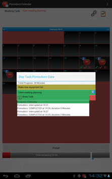 Task Timer Calendar screenshot 4