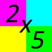 Multiplication Training Game icon