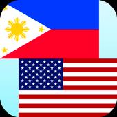 Tagalog English Translator icon