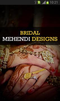 Bridal Mehendi Designs poster