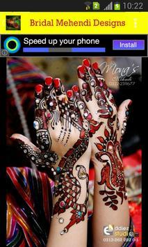 Bridal Mehendi Designs screenshot 2