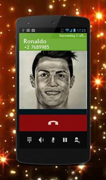 Calling Prank C.Ronaldo poster