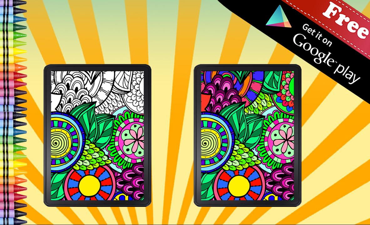 Anti Stress Adult Paint for Android - APK Download