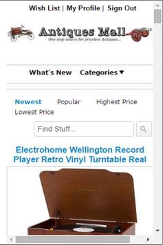 AntiquesMall screenshot 1