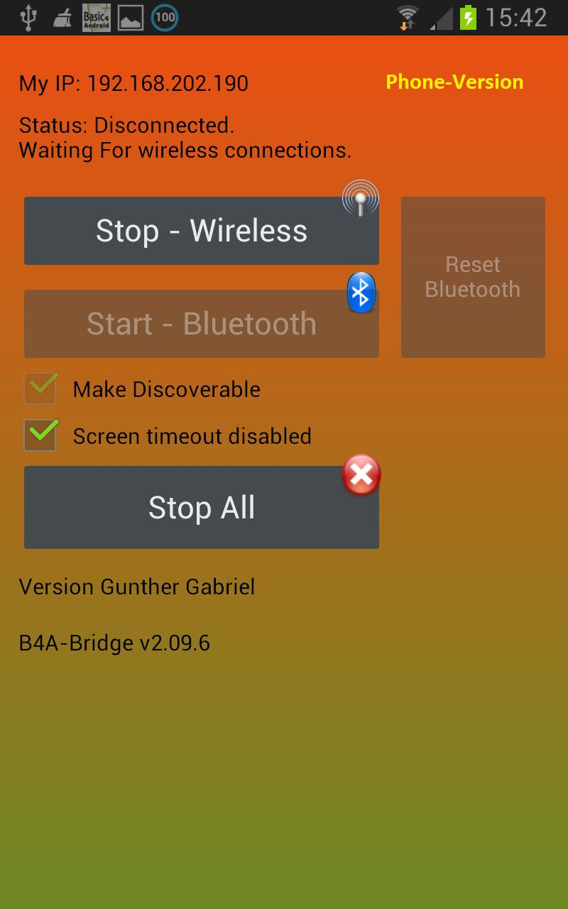 B4A-Bridge Plus for Android - APK Download