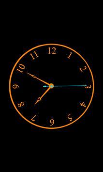 Analog Clock Live Wallpaper apk screenshot