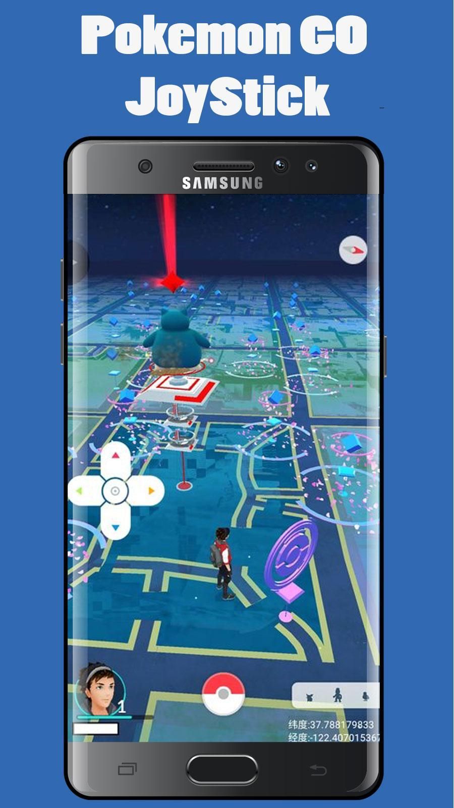 pokemon go download with joystick