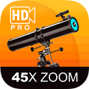 Telescope 45x HQ Img.Proc. Zoom Photo and Video APK