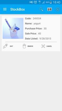 StockBox: inventory management screenshot 4