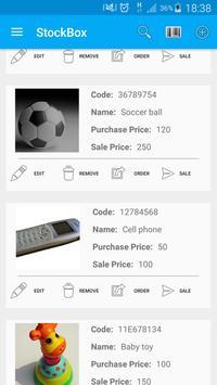 StockBox: inventory management poster