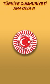 TÜRK Anayasa Hukuku poster