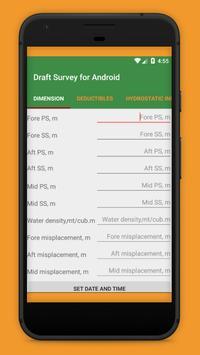 Draft Survey for Android apk screenshot