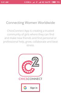 ChicsConnect poster
