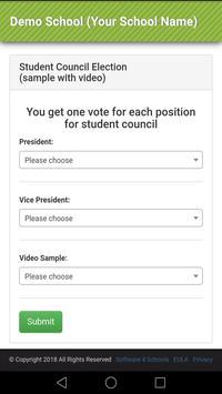 Voting screenshot 2