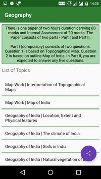 Class 10 ICSE Syllabus screenshot 1