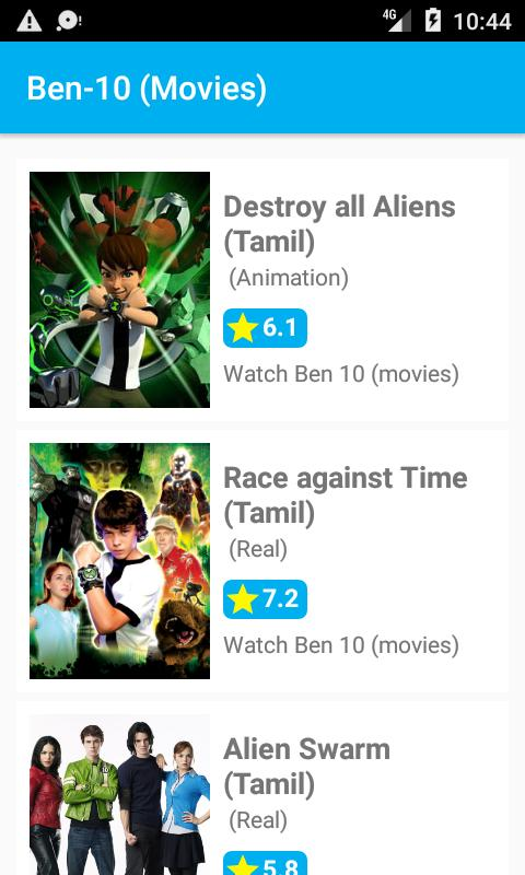 Ben 10 (Episodes all) for Android - APK Download