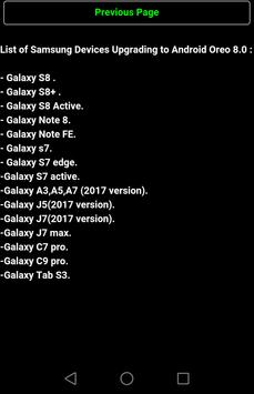 Oreo Samsung update Guide for Android - APK Download