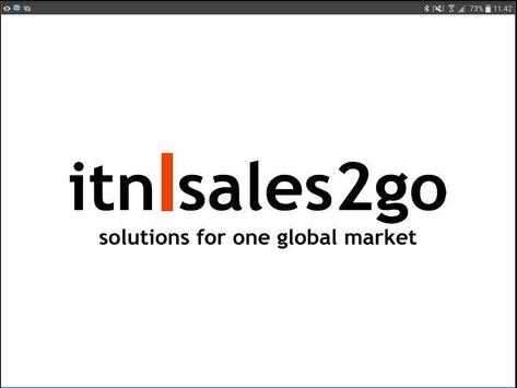 itn| sales2go poster