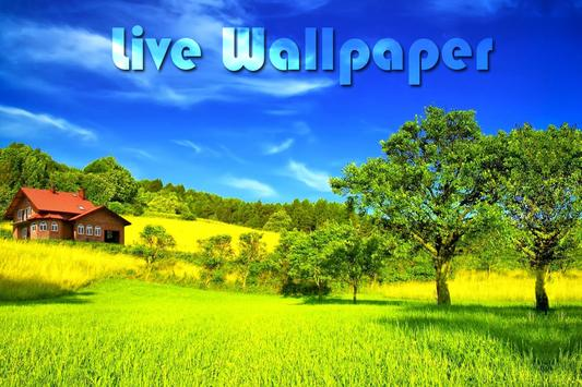 Green Nature Live Wallpaper poster