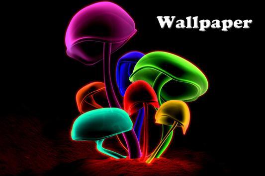 Mushroom Live Wallpaper screenshot 1