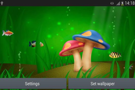 Mushroom Live Wallpaper screenshot 2
