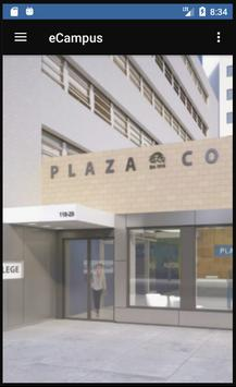Plaza College poster