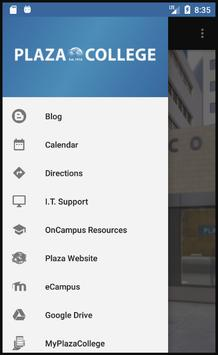 Plaza College screenshot 1