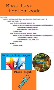 Android Code Snippets poster