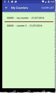 Handi Counter screenshot 1