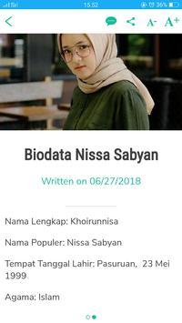 Nissa Sabyan screenshot 5