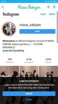 Nissa Sabyan screenshot 6