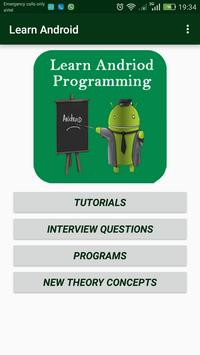 LearnAndroid poster