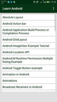 LearnAndroid screenshot 3