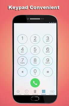 HD Phone 8 i Call Screen lite screenshot 3