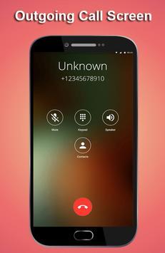 HD Phone 8 i Call Screen lite screenshot 1