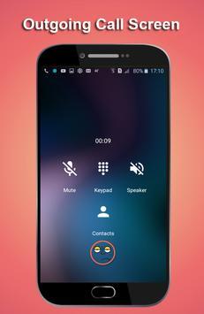 HD Phone 8 i Call Screen lite screenshot 2