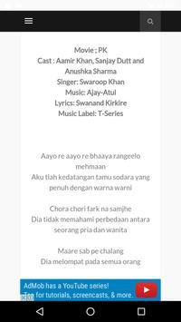 Terjemahan Lirik Lagu India apk screenshot