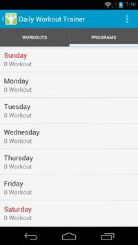 Gym Workout Plans For Men Apk Screenshot