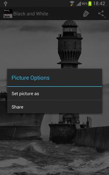 Black and White Your WALL... apk screenshot