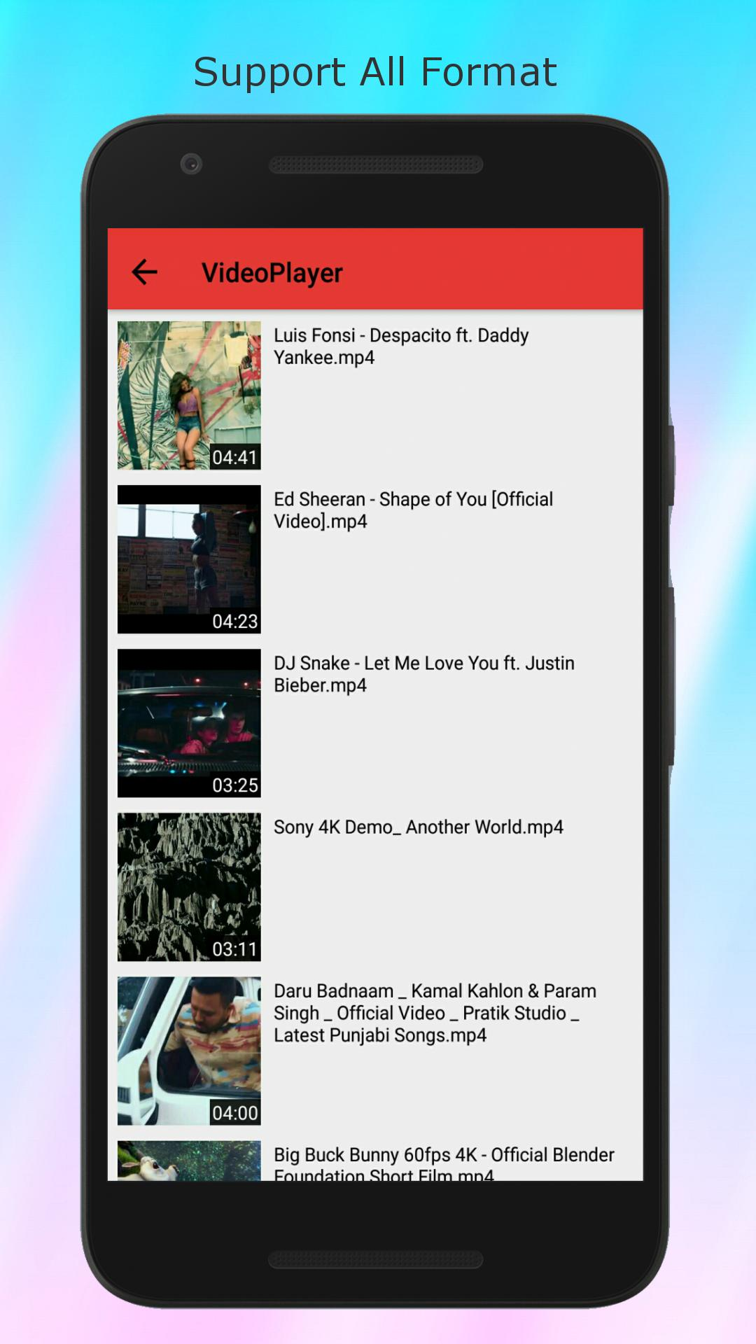 HDXPlayer - Video Player & Downloader All Format for Android - APK