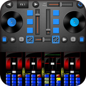DJ Mix Remix Music : Bass Booster and Equalizer icon