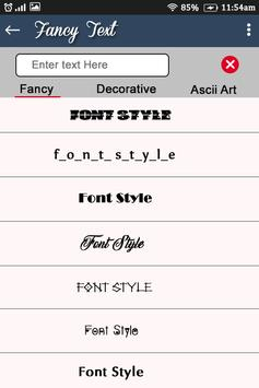 Stylish & Fancy Text Generator : Name Art for Android - APK
